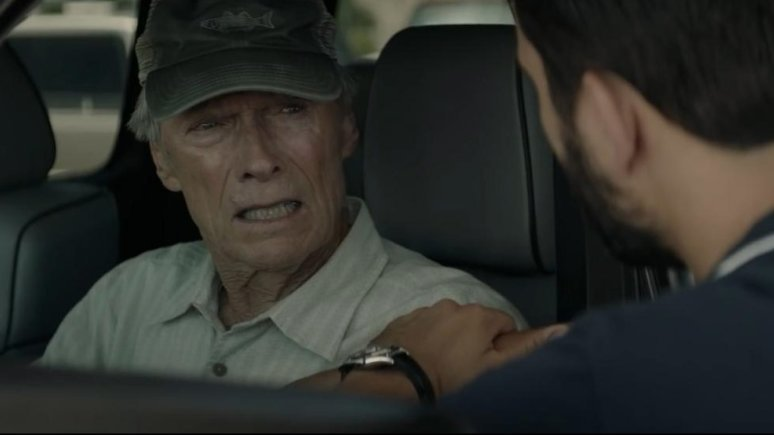 THE MULE 2019, Clint eastwood