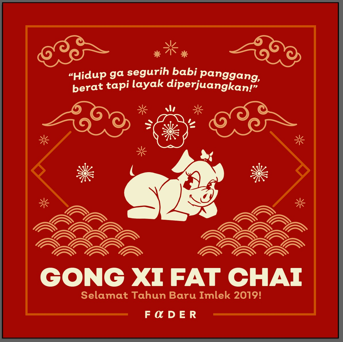 Gong Xi Fat Chai by Fader
